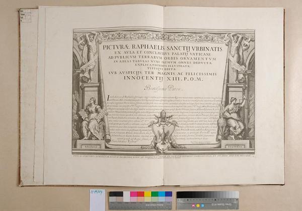 Raffael, Francesco Aquila – Picturae Raphaelis Sanctii Urbinalis ex aula et conclavibus Palatii Vaticani