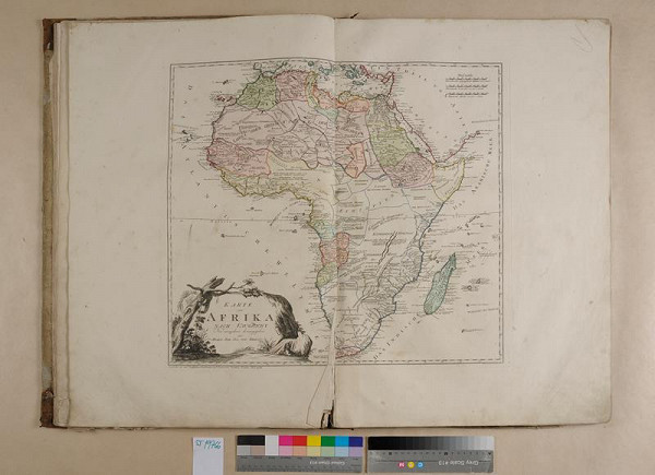 Franz Johann Joseph von Reilly, neznámý autor - Grosser deutscher Atlas