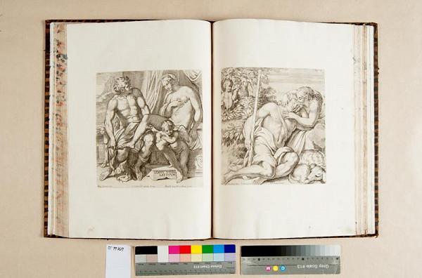 Annibale Caraccio, Carlo Cesio, Venanzio Monaldini, Lucius Pilarcheus – Aedium Farnesiarum tabulae ab Annibale Caraccio depictae a carolo Caesio aeri insculptae