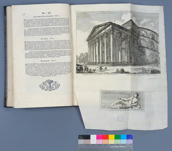 Christoph Kilian, Conrad Heinrich Stage, Jean Barbault – Denkmäler des Alten Roms