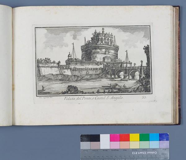 Giovanni Cassini, Venanzio Monaldini – Nuova raccolta delle megliori vedute antiche e moderne di Roma