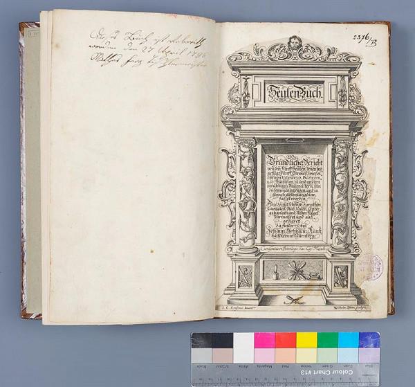 Giacomo Barozzi da Vignola, Johann Hoffmann, Vitruvius, Georg Caspar Erasmus - Seülen-Buch