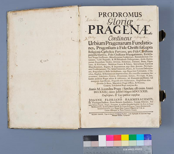 Wolfgang Wickhart, Jan Florián Hammerschmidt - Prodromus Gloriae Pragenae