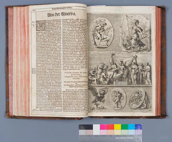 Joachim Sandrart, Christian Siegmund Frobeger – Iconologia deorum oder Abbildung der Götter