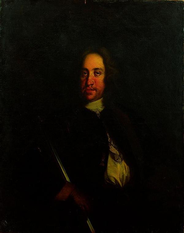 Johann Gottfried Auerbach - dílna (?) – Podobizna Karla VI.