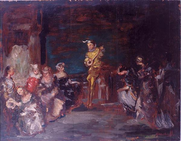 Adolphe Joseph Monticelli – Divadlo