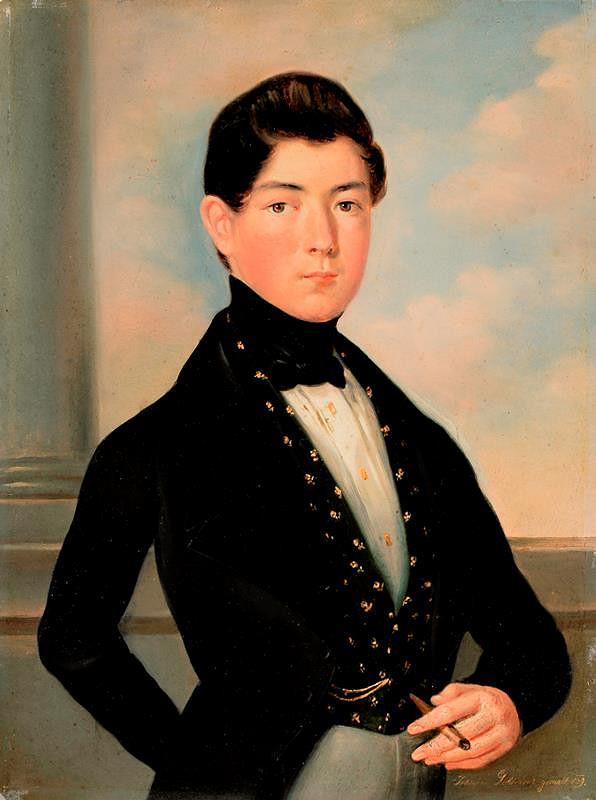 Jan Ondřej Gebhardt – Podobizna mladého Offermanna