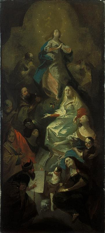Josef Winterhalder II. (Winterhalter) – Příbuzenstvo Panny Marie