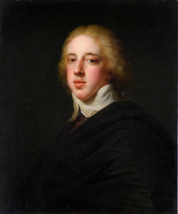 Johann Baptist Lampi ml – Podobizna švédského krále Gustava IV. Adolfa (1778–1837)
