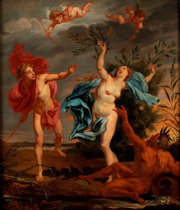 Jan Boeckhorst - Apollo a Dafné