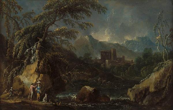 Maximilian Joseph Schinnagl - Horská krajina