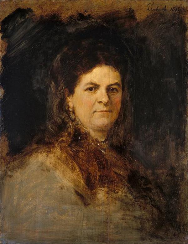 Franz Seraph von Lenbach - Podobizna dámy