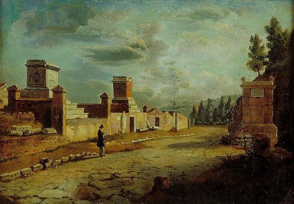 Jakob Alt – Via Appia