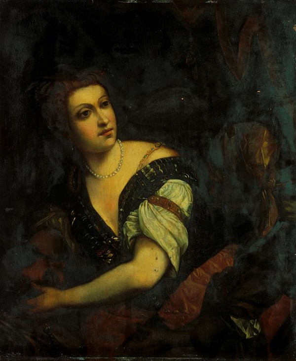 Paolo Veronese – Salome s hlavou Jana Křtitele