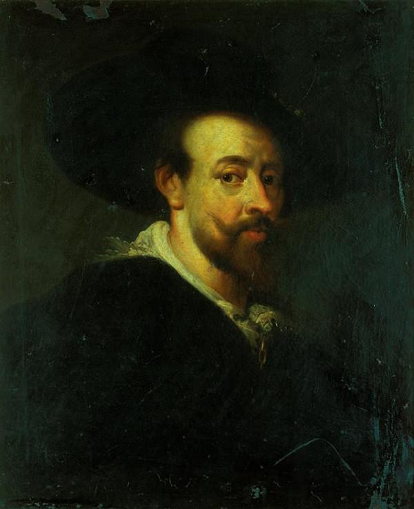 Peter Paul Rubens - kopie – Vlastní portrét