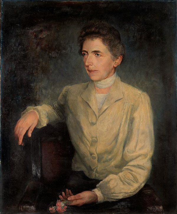 Leo Fitz - Portrét paní Sellnerové