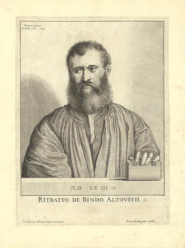 Václav Hollar – Altoviti oder della Casa, podle Tiziana