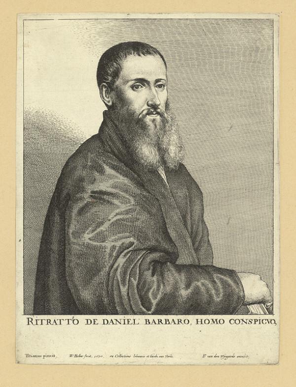 Václav Hollar - Daniel Barbaro, podle Tiziana
