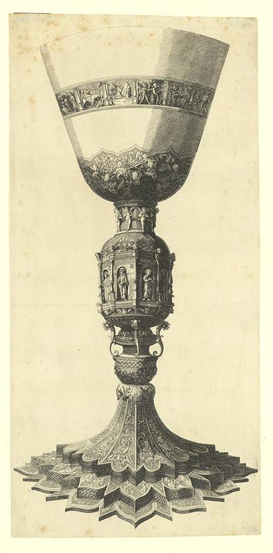 Václav Hollar - Kalich, podle Andrey Mantegni