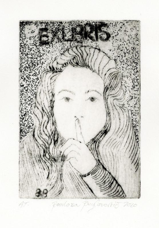 Barbora Bieylonovič – Ex libris BB, Fáze ženy I., ze série Ticho
