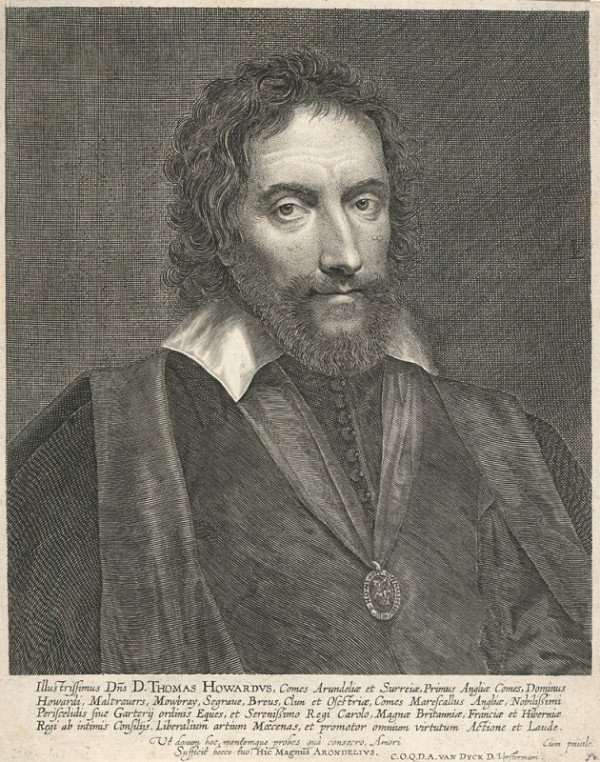 Lukas Vorsterman I. – Portrét Thomase Howarda z Arundelu (podle A. van Dycka)