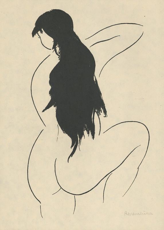 Rudolf Kremlička – Dívka s černými vlasy