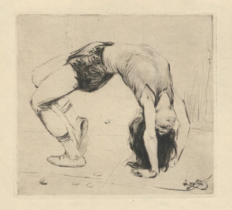 František Kupka – Akrobatka, 1902