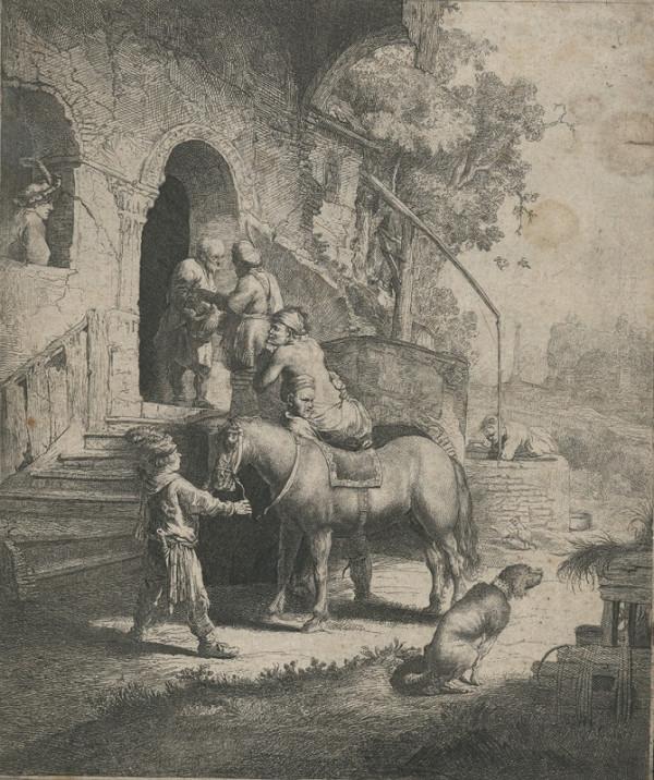 Rembrandt Harmensz van Rijn – Milosrdný Samaritán
