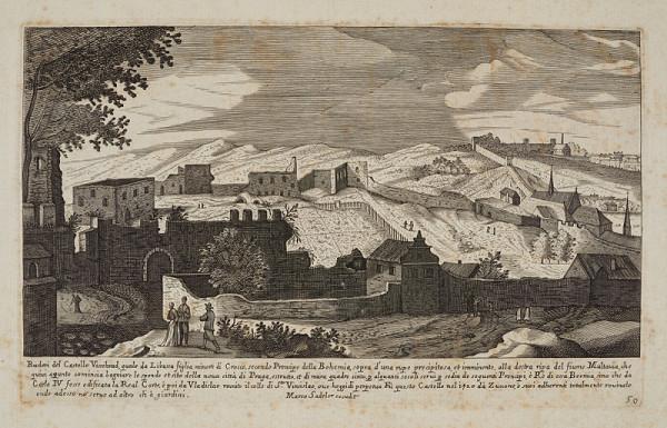 Aegidius Sadeler – Pohled na Vyšehrad