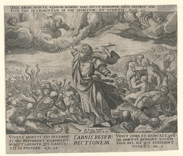Jan Sadeler st. – Poslední soud (podle M. de Vose)
