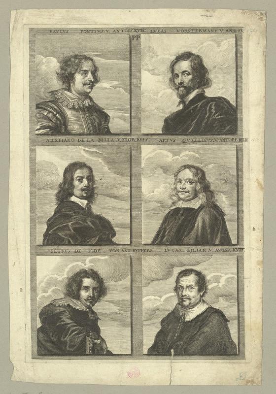 Joachim von Sandrart – Podobizna šesti rytců