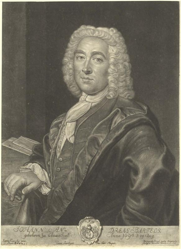 Bernard Vogel – Podobizna Johanna Andrease Bartelse (podle Jana Kupeckého)
