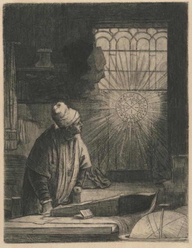 Rembrandt van Rijn – Faust, 1650 – 1654