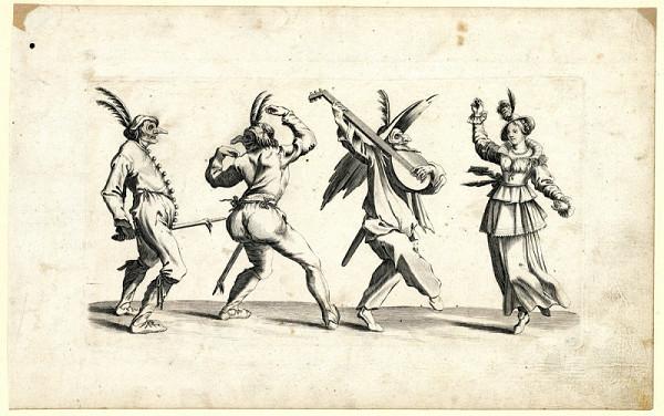 Jacques Callot – Balli di Sfessania