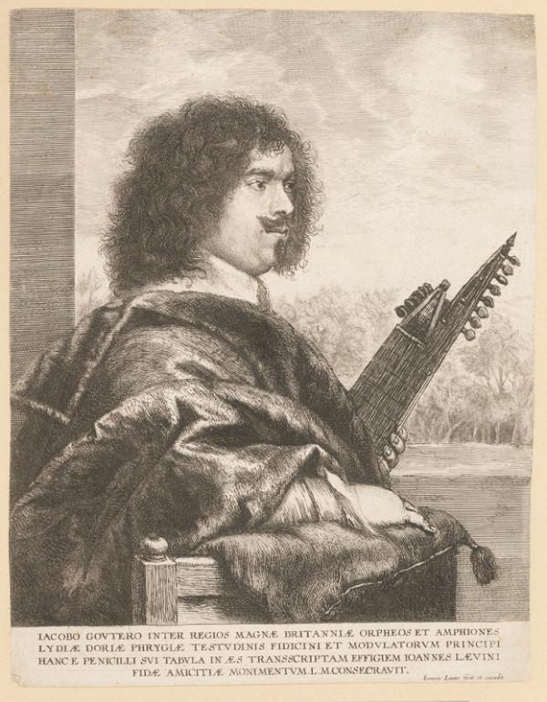 Jan Lievens – Podobizna anglického hudebníka Jakoba Goutera