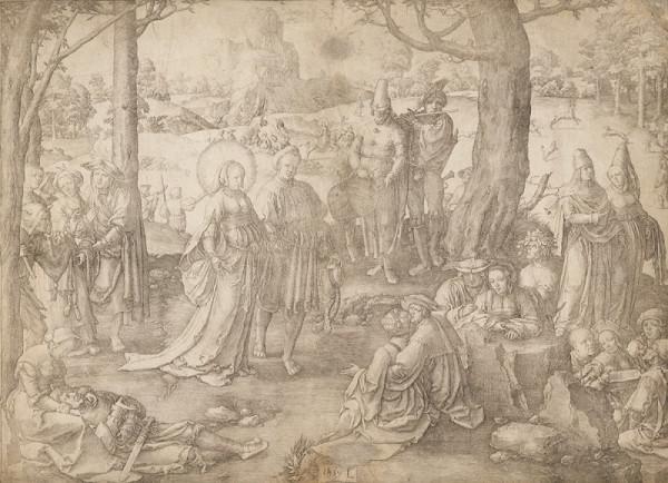 Lucas van Leyden – Tanec Máří Magdaleny