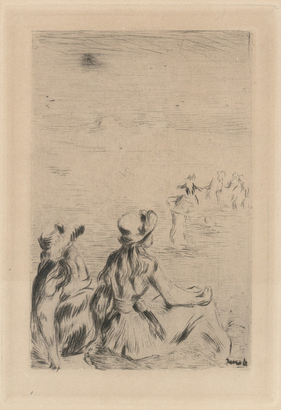 Pierre-August Renoir – Na pláži