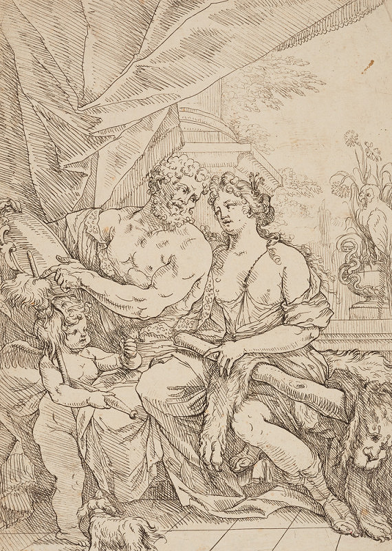 Samuel Bottschildt – Herkules a Omfalé