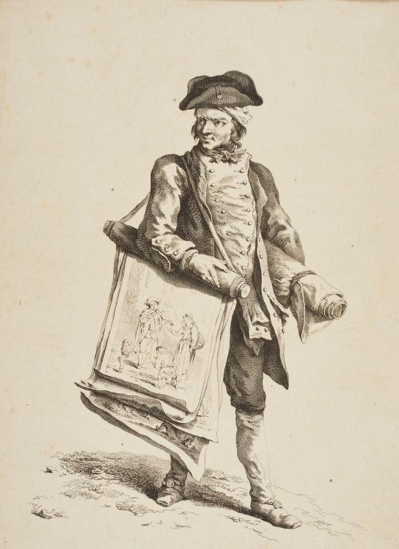Johann Christian Brand – Prodavač grafik