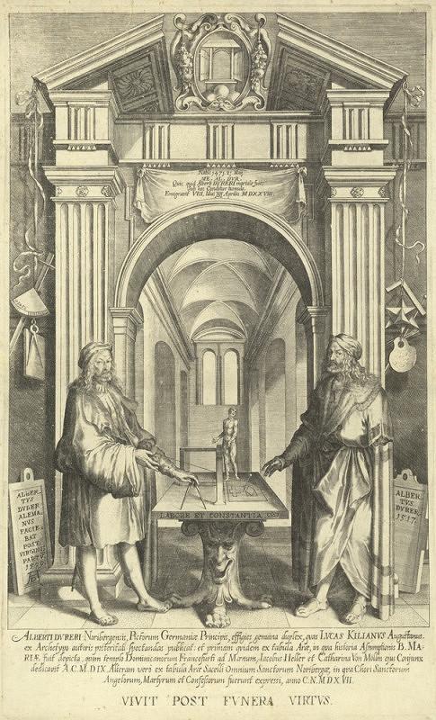 Lukas Kilian – Albrecht Dürer (V chrámu slávy)