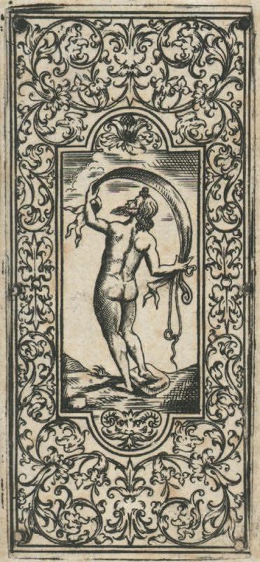 Hans Holbein – Knižní výzdoba – Akt muže