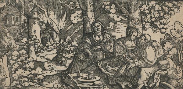 Hans Leonhard Schäuffelein – Lot a jeho dcery
