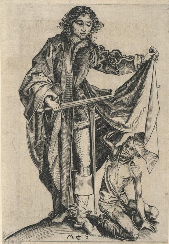 Martin Schongauer – Svatý Martin