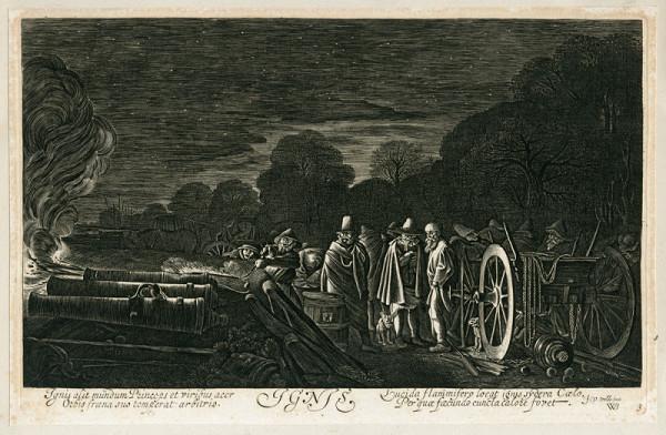 Jan van de Velde – Oheň (podle W. Buytewecha)