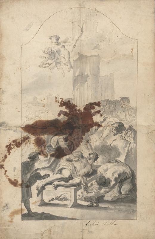 František Karel Palko – Umučení sv. Vavřince