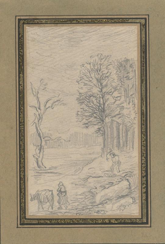 Théodore Rousseau - Kresby ze skicáře