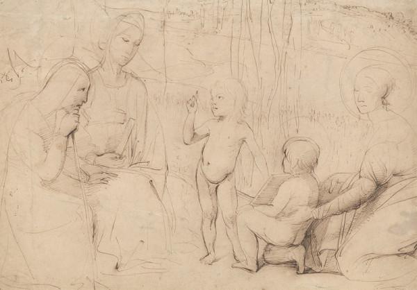 Jean Auguste Dominique Ingres – Svatá rodina