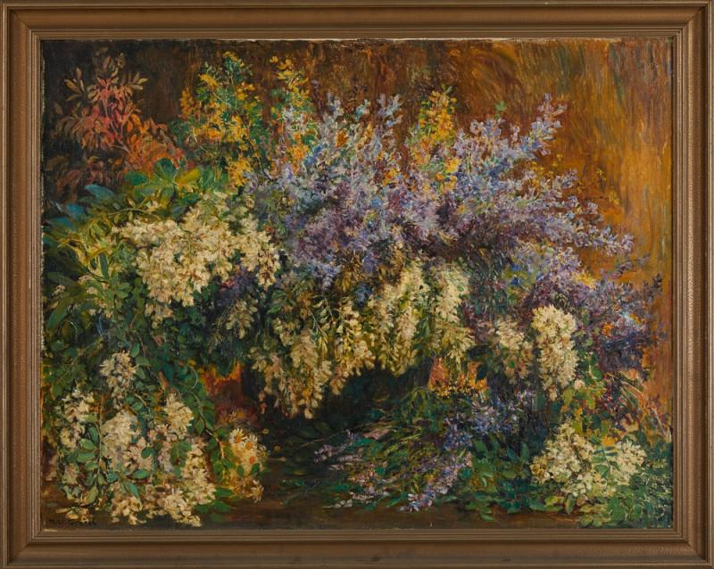 Menci Clement Crnčić – Květinové zátiší, 1890 – 1920