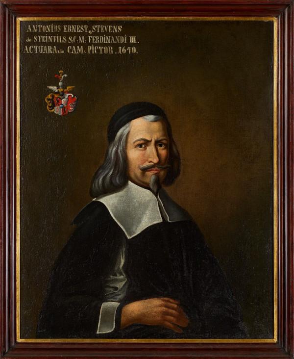 Antonín Arnošt Stevens ze Steinfelsu – Vlastní podobizna