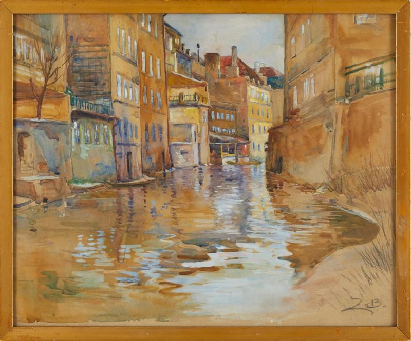 Zdenka Braunerová – Pražské Benátky, 90. roky 19. storočia